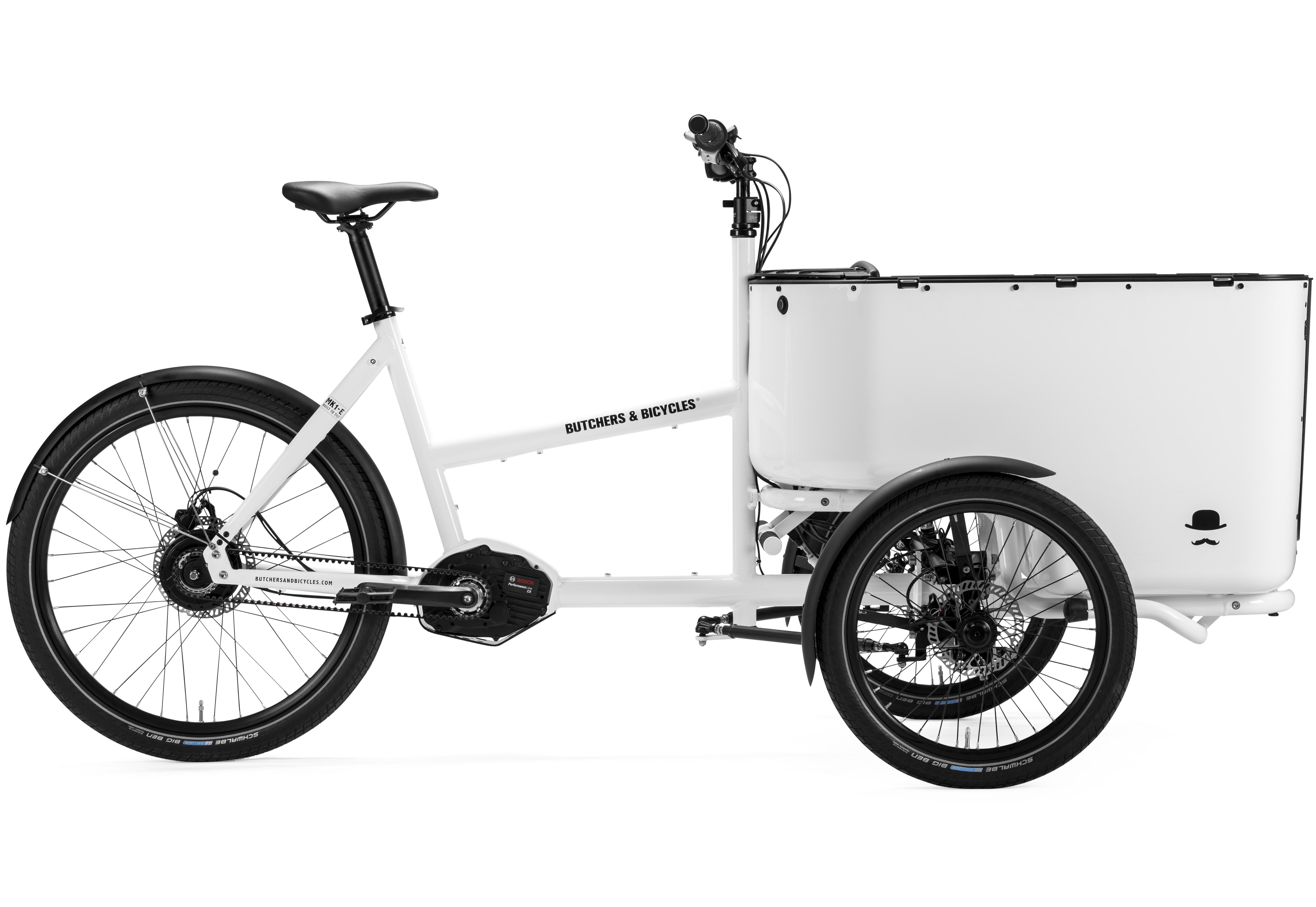 Butchers & Bicycles Lastendreirad MK1-E